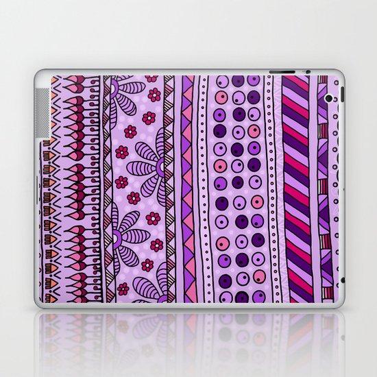 Yzor pattern 001 pink Laptop & iPad Skin