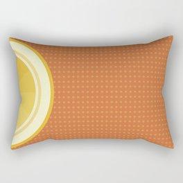 Orange I Rectangular Pillow