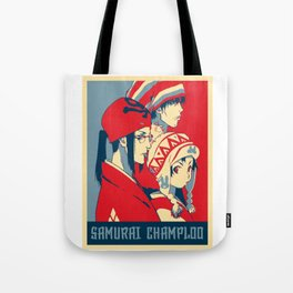 Samurai Champloo Poster Tote Bag