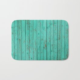 wood turquoise new art grid wod color fun pattern texture style 2018 2019 artist floor wall new Bath Mat