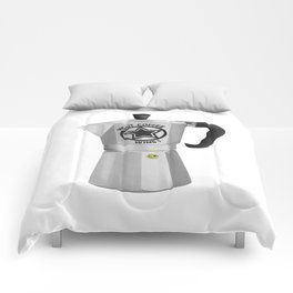 Most Coffee Wins Comforters