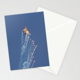 Dutch F-16 Flares  Stationery Cards