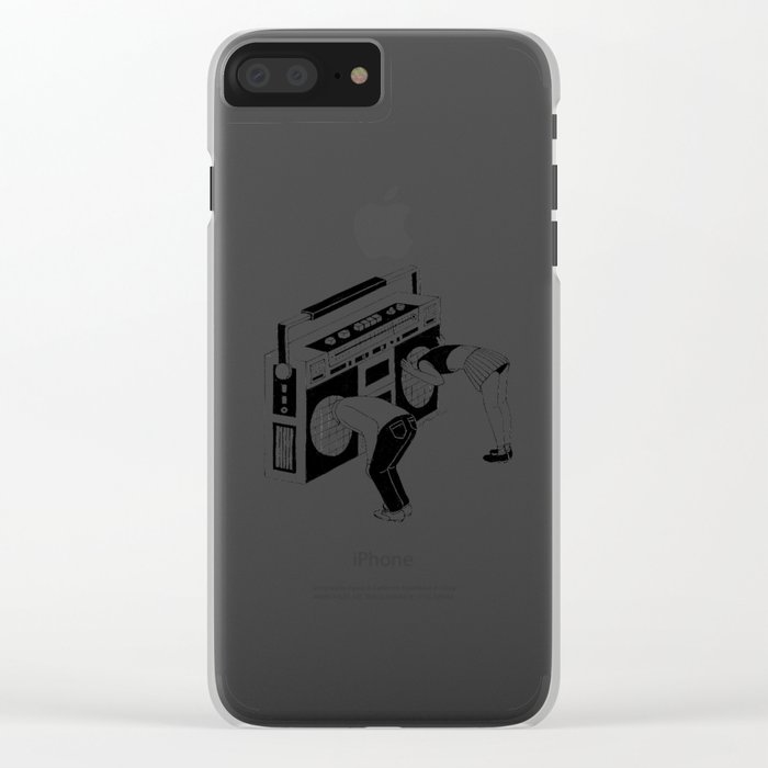 Radiohead Clear iPhone Case