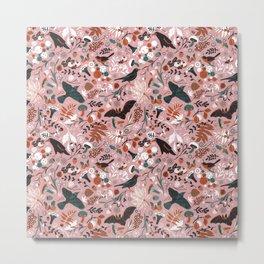 October birds Metal Print