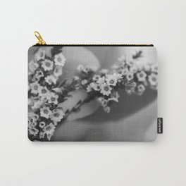 Baby's Breath B&W Carry-All Pouch