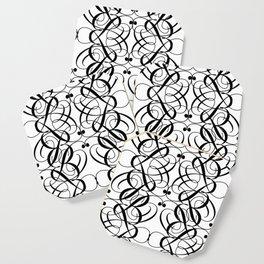 LETTERNS - B - Edwardian Script Coaster