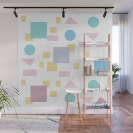 Bauhaus geometric modern shapes Wall Mural