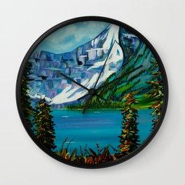 Nature's Escape Wall Clock