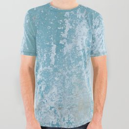 Vintage Galvanized Metal All Over Graphic Tee