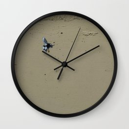 Bee you, work hard Wall Clock