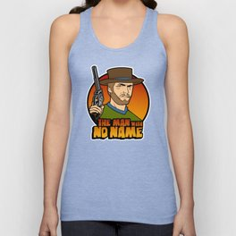 The man with no face Unisex Tank Top