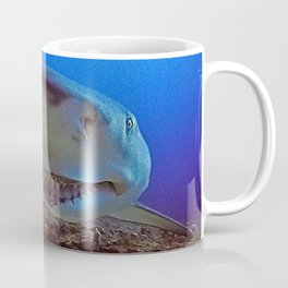 Snooty Shark Portrait Coffee Mug