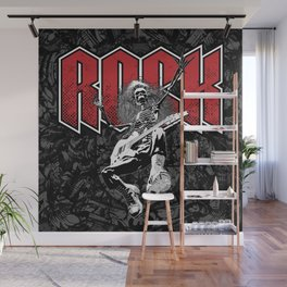 Rock On Wall Mural
