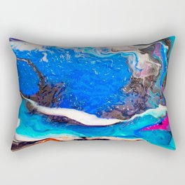 Into The Sea Rectangular Pillow
