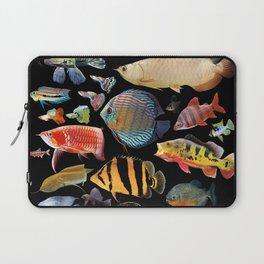 Freshwater tropical fish Laptop Sleeve
