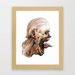 Pain Framed Art Print