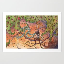 Ode to The Giving Tree Art Print