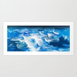 Cartografias del Agua Art Print