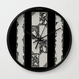 Brace Wall Clock