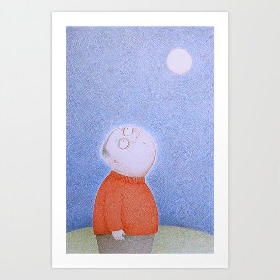 Light of the Moon Art Print