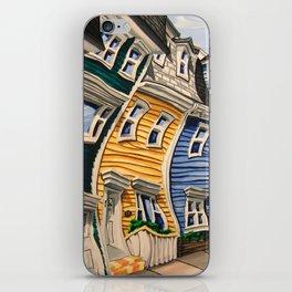 Prescott Street (Rooftops) iPhone Skin