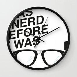 Nerd? Cool? Wall Clock
