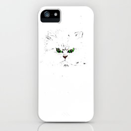 Grumpy Kitty iPhone Case