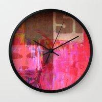usa Wall Clocks featuring USA by Fernando Vieira