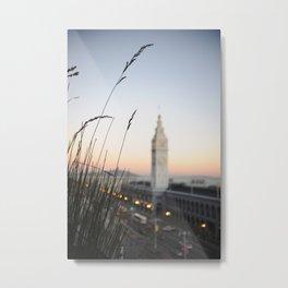 Ferry Building 2 Metal Print