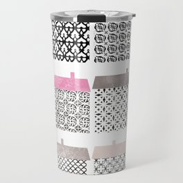 Casitas esgrafiadas. Houses. Casas Travel Mug