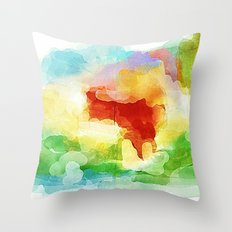 Wishing is easy Throw Pillow