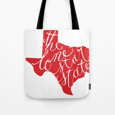 The Lone Star State - Texas Tote Bag