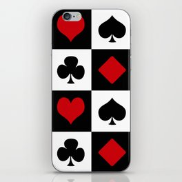 Playing card iPhone Skin