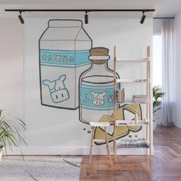 Lon Lon Milk & Cookies Wall Mural
