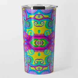 Klimt Tree of Life Mandala Travel Mug