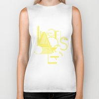 los angeles Biker Tanks featuring Los Angeles by ARTITECTURE