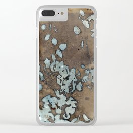 Somber Raindrops Clear iPhone Case