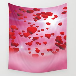 Sky is full of love Wall Tapestry