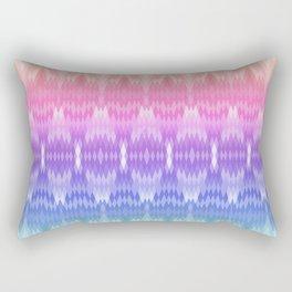rainbow diamonds Rectangular Pillow