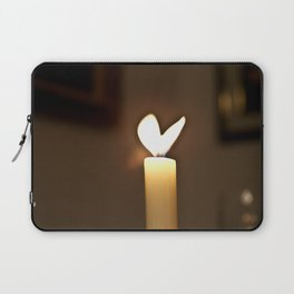 Love candel Laptop Sleeve