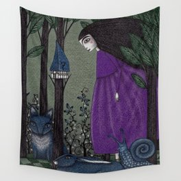 There is a Place in the Woods... Wall Tapestry