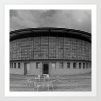 building Art Prints featuring Building by Frankpeti
