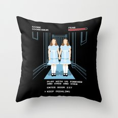 All Play and No Work Throw Pillow