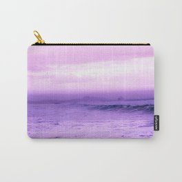 Beautiful Purple Oceanside Carry-All Pouch