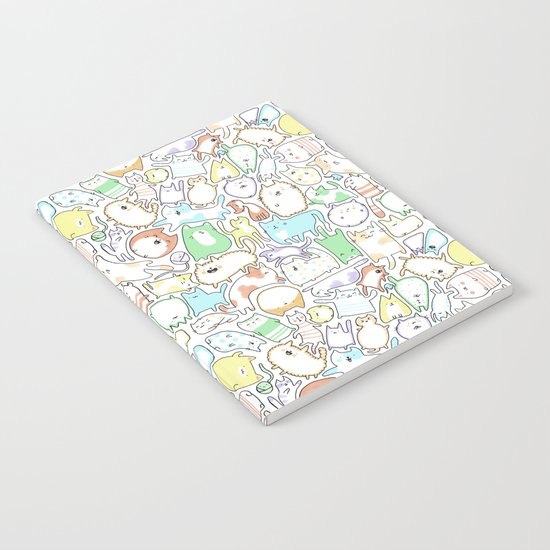Doodle Cats Notebook