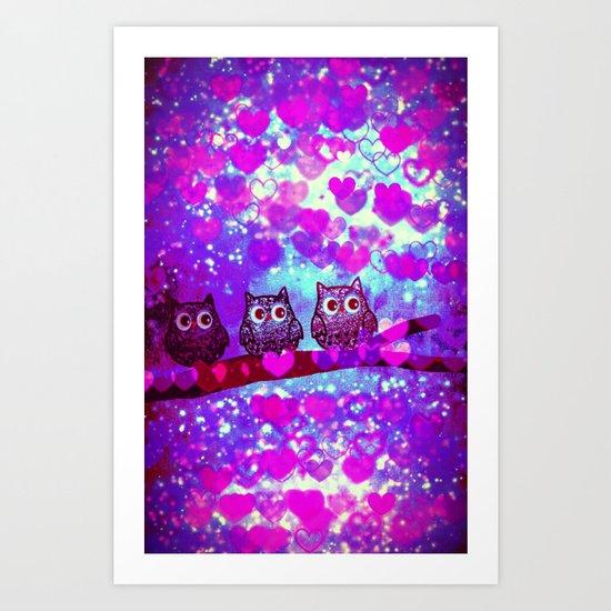 owl-272 Art Print