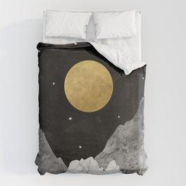 Moon and Stars Bettbezug