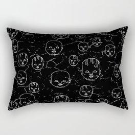 Dolls #7 Rectangular Pillow