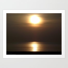 Mesmerizing Sunset Art Print