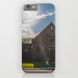Holy Trinity Catholic Church, Fingal, North Dakota 2 iPhone Case